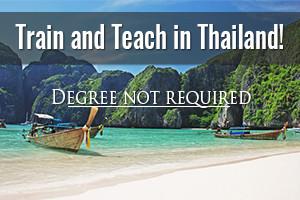 Teach English in Thailand